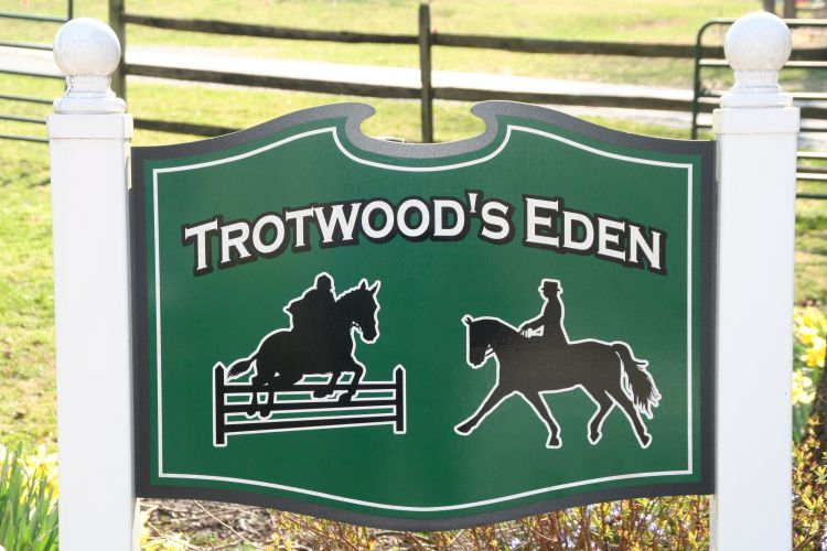 Front Gate Sign